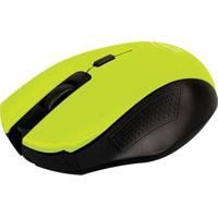 Mouse Sem Fio Citrus- Verde Limã£O & Preto- 3,5X6X10,Newex
