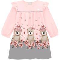 Vestido Infantil Milon Rosa