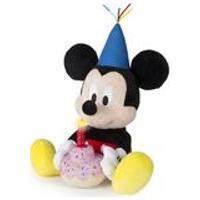 Pelucia Mickey Happy Birthday Com Som Alimentacao Por 3 Baterias Lr44 Indicado Para +18 Meses Multikids - Br375