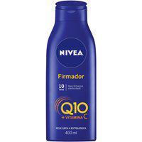 Loção Hidratante Nivea Firmador Q10 + Vitamina C Pele Seca A Extrasseca 400Ml