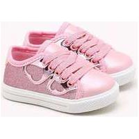 Tênis Gsn Kids Infantil Glitter Rosa