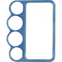 Capa Capinha Bumper Soco Inglês Azul Soqueira Para Iphone 4