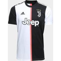 Camisa Juventus Home 19/20 S/N° Torcedor Adidas Masculina - Masculino