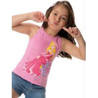 Blusa Rosa Aurora® Em Malha