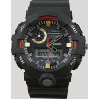 Relógio Digital Speedo Masculino - 81181G0Evnp2 Preto - Único