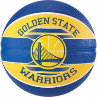 Bola De Basquete Spalding Nba Golden State Warriors Team Rubber Basketball Tam 7 - Unissex