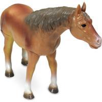 Figura Bicho Mundi - 20 Cm - Cavalos - Dtc - Unissex-Incolor