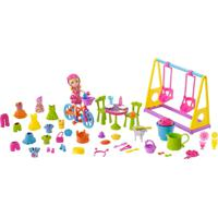 Mini Boneca - Polly Pocket - Brincando No Quintal - Mattel - Feminino