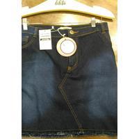 Mini Saia Lilita Jeans Dark Jeans