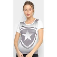 Camiseta Botafogo Escudo Kappa Feminina - Feminino