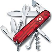 Canivete Climber Com 14 Funã§Ãµes- Inox & Vermelho- 9,Victorinox
