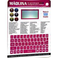 Notebook Laptop Talet Infantil Interativo Educativo Bilingue Com 120 Funções Portgues Ingles Completo