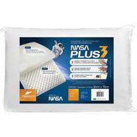Travesseiro Fibrasca Nasa Plus 3, Viscoelástico Com Toque Massageador - 4417