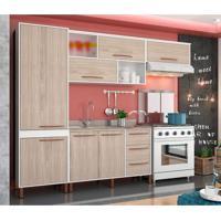 Cozinha Completa Hibisco 9 Pt 5 Gv Branco E Teka