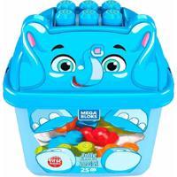 Fisher Price Mega Bloks Balde De Animais Elefante - Mattel - Kanui
