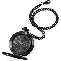 Relógio Technos De Bolso Heritage Aço Masculino - Masculino