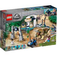 Lego Jurassic World - Fúria Do Triceratops - 75937