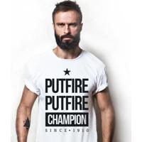 Camiseta Zé Carretilha - Bot - Fogao - Putfire Masculina - Masculino
