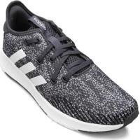 Tênis Adidas Questar X Byd Feminino - Feminino-Branco+Preto