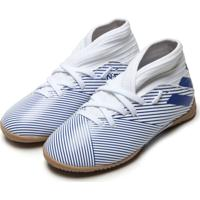 Chuteira Adidas Performance Menino Nemeziz 19 3 In Jr Branca/Azul