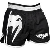 Shorts Muay Thai Venum Giant Spirit - Preto