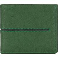 Tod'S Stripe Bi-Fold Wallet - Verde