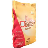 Ração Para Gatos Adultos Quatree Gourmet Sabor Carne 3Kg