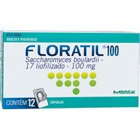 Floratil 100Mg Natulab 12 Cápsulas
