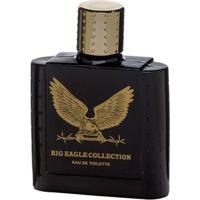 Big Eagle Collection Black Real Time - Perfume Masculino - Eau De Toilette 100Ml - Masculino-Incolor