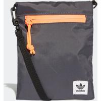 Bolsa Adidas Simple Pouch Originals Cinza