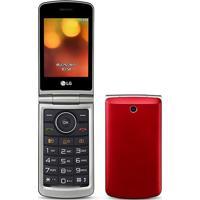 Celular Lg G360 Dual Sim Flip Tela 3.0 Câmera Rádio Fm Vermelho
