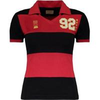 Camisa Flamengo Retrô 1992 Feminina - Feminino
