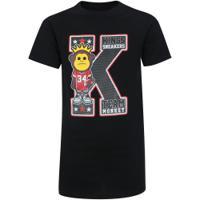 Camiseta Kings K - Infantil - Preto