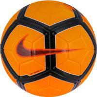 Bola De Futebol De Campo Nike Strike - Laranja Preto 1e12e30ac248c