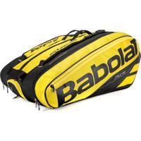 Raqueteira De Tenis Pure Aero Rafael Nadal Babolat X12 Amarelo
