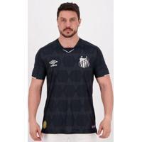 Camisa Umbro Santos Iii 2019 Masculina - Masculino