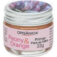 Hidratante Para As Mãos Orgânica Primer Peony E Orange 33G - Unissex