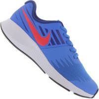 Tênis Nike Star Runner - Infantil - Azul Cla/Azul Esc