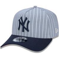 6fd152f19 Netshoes  Boné New Era Aba Curva Sn Mlb Ny Yankees Af Stripes Aba Curva -  Unissex