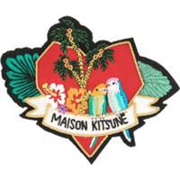 Maison Kitsuné Carteira De Couro - Estampado