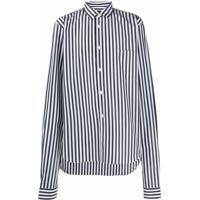 Comme Des Garçons Homme Plus Striped Tailored Shirt - Preto