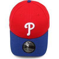66e4128b0 Dafiti  Boné New Era Snapback 940 Philadelphia Phillies Vermelho Azul