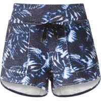 Track & Field Short Surf Softmax De Moletom - Azul