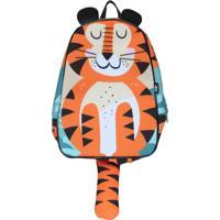 Mochila Ó Design Baby Tigre Laranja