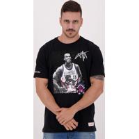 Camiseta Mitchell Ness Nba Toronto Raptors 15 Carter Preta