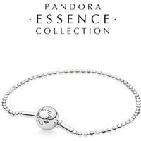 Bracelete Essence Collection Pontos Prata De Lei