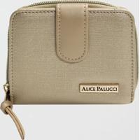 Carteira Feminina Alice Palucci (Prata, Único)
