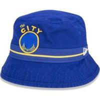 Chapeu Bucket Golden State Warriors Nba New Era - Masculino