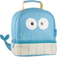 Lancheira Escolar Multikids Little Buddys Baleia Bluu Térmica - Masculino-Azul