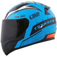 Capacete Ls2 Ff353 Thunder Azul Fosco